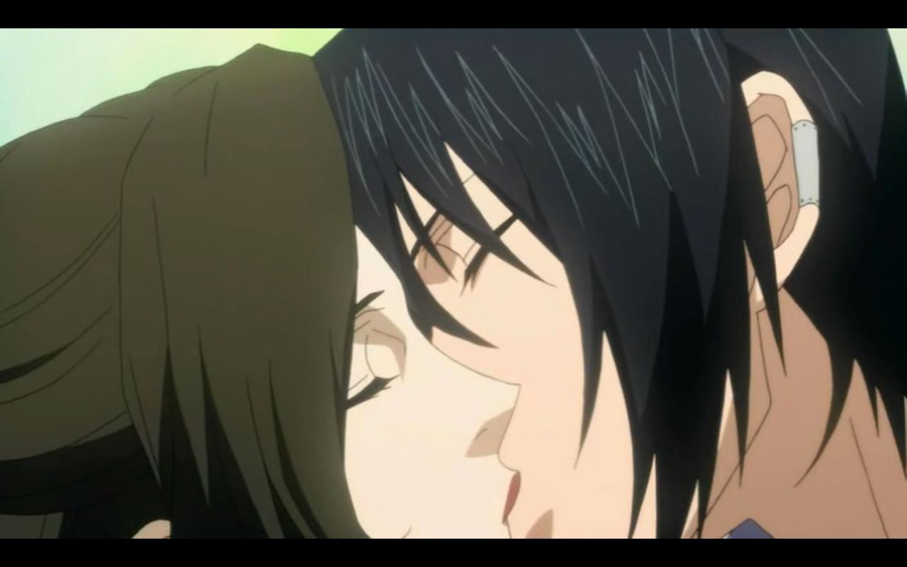 Nabari No Ou Miharu And Yoite Kiss Nabari no Ou 13 [Nemur...