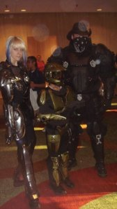 Gears of War is what the guys say. I don't know, but they're GOOD cosplays.