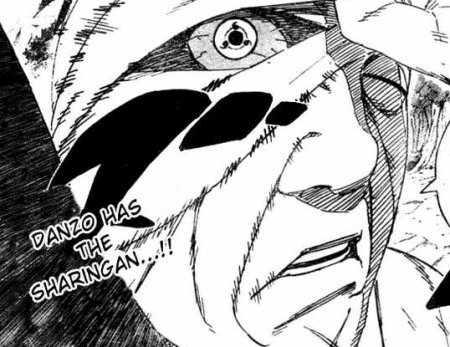01 Chap 455 Danzou has sharingan