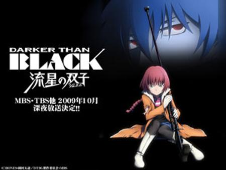 Darker than black comet of gemini
